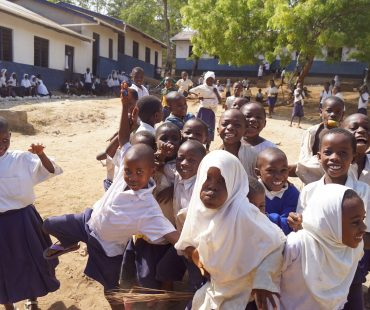 Students at Mnaida Primary School