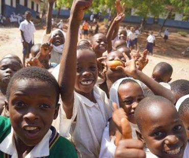 Students at Mnaida Primary School